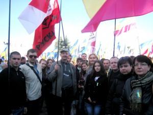 Трускавчани на мітингу. Київ 2010 7 вересня