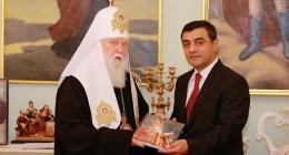 Ельмар Мамедов і Патріарх Філарет