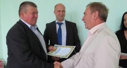 Лева Грицака відзначили грамотою за допомогу воїнам АТО та створення робочих місць