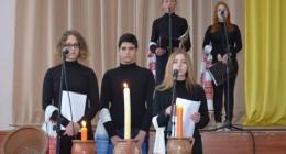 У Стебницькому професійному ліцеї проведено урок-реквієм «Дзвони серця»