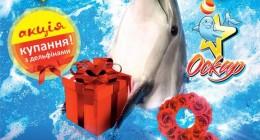 8 Березня в дельфінарії «Оскар»