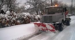 чищення снігу