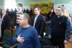 Руслан Цехмейстер на сесії