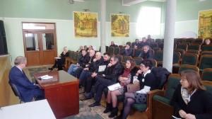 Влада Трускавця провела чергову зустріч з бійцями АТО