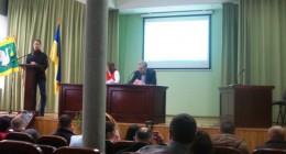 На сесію міської ради завітав народний депутат