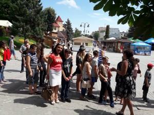 Діти з Красногорівки – у Франковому краї