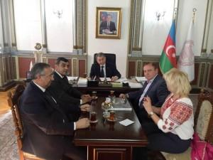 зустріч в Баку