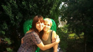 Світлана Забара та її мама Ірина