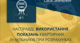 """Закон України """"Про комерційний облік теплової енергії та водопостачання"""" і міфи довкола нього"""