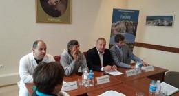 """делегації з Молдови в ГКК """"Карпати"""""""