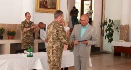 Трускавець відвідав заступник міністра оборони