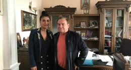 Известная азербайджанская певица Афаг Аслан поблагодарила Льва Грицака за его вклад в развитие азербайджано-украинских отношений