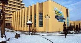 зовнішній вигляд водно-спортивного комплексу ГКК «Карпати» до початку реконструкції.