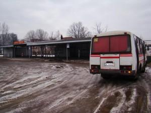 Стебник. автостанція