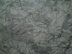 стара карта. Стебник і околиці