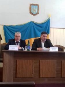 Руслан Корж (зліва)