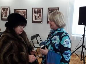 Любов Кіско і Анна Литвин
