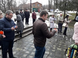 вшанування пам`яті Романа Різняка-Макомацького у 2018 р.