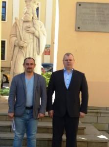 Іван Цегенько та Микола Величкович