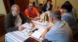 Об'єднання українців Польщі приймало гостей з України