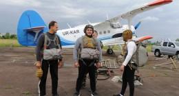 Стрибки з парашутами – нова атракція для гостей Трускавця