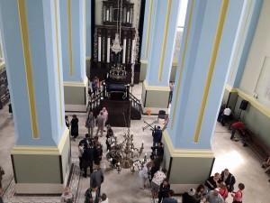 відкриття хоральної синагоги в Дрогобичі