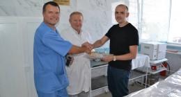 ремонт перев'язочного кабінету травматології зроблено силами ГКК «Карпати».