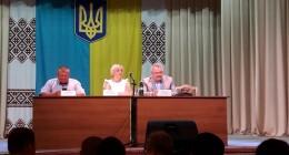 представлення нового голови Дрогобицької РДА Андрія Шевкенича
