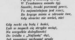 stara polska piosenka o Naftusi