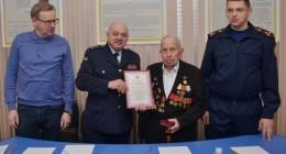 Вогнеборець-довгожитель із Трускавця відсвяткував 100-літній ювілей