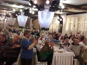 Партія «Батьківщина» у Трускавці організувала благодійну вечерю на Різдвяні свята