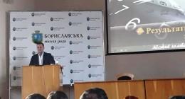 Звіт мера Борислава Ігоря Яворського