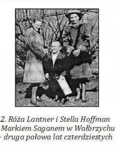 Марек Саган і врятовані ним єврейки Ружа Лянтнер і Стелла Гоффман