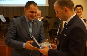 Bogdan Matkiwskyj i Michał Kozak (Hotel Arłamów) (fot. Konstanty Czawaga)