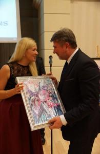 Natala Poliszczuk – autorka wyróżnień (fot. Konstanty Czawaga)