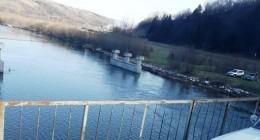 річка Стрий, міст у Крушельниці