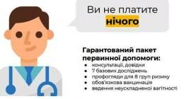 Всі комунальні медзаклади первинки фінансуються за системою «Гроші за пацієнтом»